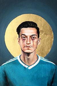 Mesut Özil - Poster von David Diehl - Photocircle