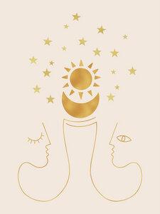New Beginnings - Poster von Shatha Al Dafai - Photocircle