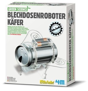 Blechdosenroboter Käfer - Green Science