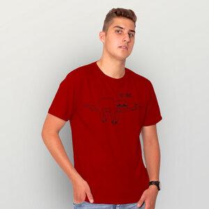 """Not Today..."" Männer T-Shirt reine Biobaumwolle (kbA) - HANDGEDRUCKT"
