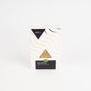 Zedernkerne bio Rohkostqualität 70 g Geschenkverpackung - Jalall D´or