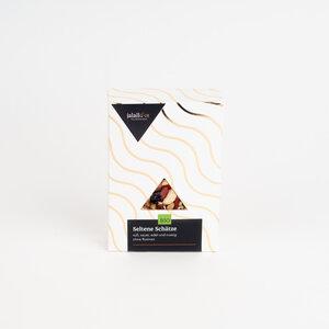 """Nuss-Frucht-Mischung """"Seltene Schätze"""" mit Zedernüssen und Gojibeeren 80 g Geschenkverpackung - Jalall D´or"""