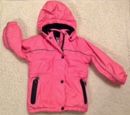 Schneejacke aus Recyclingmaterial rosa - Fred's World by Green Cotton