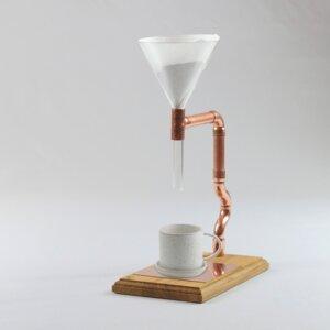 Unikat Kaffeebereiter Pour Over Star - Holzköpfchen