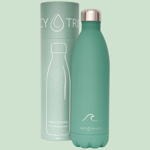 Isolierflasche 1 Liter, Trinkflasche aus Edelstahl - Fancy Trinken