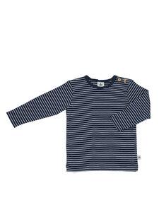 Baby und Kinder Langarm-Shirt geringelt reine Bio-Baumwolle - Leela Cotton