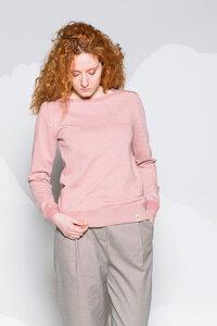 Damen Sweatshirt ASTI aus Biobaumwolle (kbA) - Grenz/gang