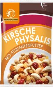 Bio Studentenfutter Kirsche-Physalis 50g - Landgarten