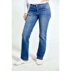 Straight Fit – mittelblaue Damen-Jeans - TORLAND