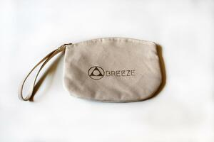 Breeze Yoga Kulturbeutel Kosmetiktasche Makemake Goldener Zipper - Breeze Yoga