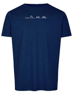 Basic Bio T-Shirt (men) Nr.2 Bicycle Line - Brandless