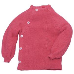 Baby und Kinder Pullover mit Knöpfen reine Bio-Merinowolle - Reiff