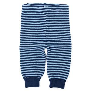 Baby und Kinder Ringel-Leggings reine Bio-Merinowolle - Reiff