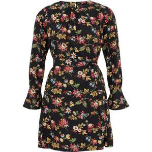 Short Dress V&A Jardin Print - People Tree
