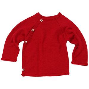 Baby und Kinder Frottee-Pullover Bio-Merinowolle/Seide - Reiff