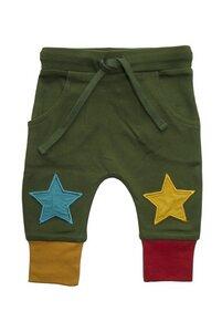 Baby u. Kinder Jogger Hose grün u. rot Little Green Radicals - Little Green Radicals