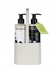 Cowshed Grubby Cow & Cow Slip Hand Care Caddy Gift Set - COWSHED