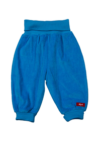 Baby Nickihose blau Bio Baumwolle - People Wear Organic