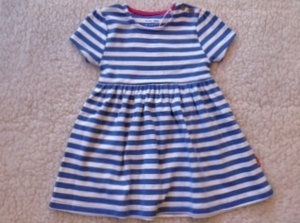 Sommerkleid blau-weiß gestreift - Kite Kids
