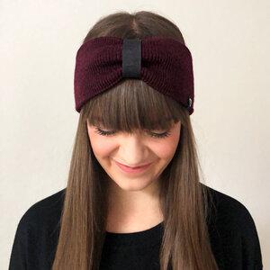 """Stirnband aus Merinowolle (mulesingfrei) """"Paris"""" - eisbörg"""