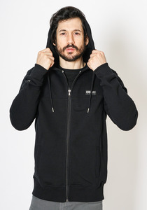 Waffel Zip Hooded Sweat - Honesty Rules