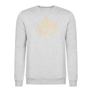 Sweater CANTON aus Bio-Baumwolle mit Print - stoffbruch
