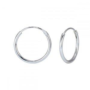 Kleine Creolen Ohrringe - 925er Sterling Silber - 10mm - LUXAA®