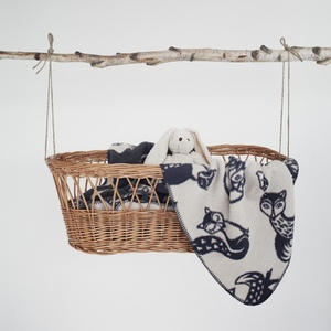 Decke / Kinderdecke, 100% Bio-Baumwolle, supersoft  - Fabulous Goose (Fabgoose)