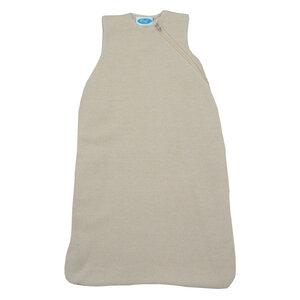 Baby und Kinder Strick-Schlafsack ohne Arm mit Plüschfutter Bio-Wolle/Bio-Baumwolle - Reiff