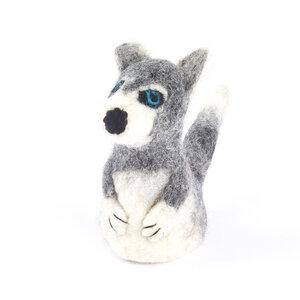 Husky als Filz Eierwärmer - short'n'pietz