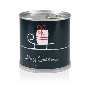 Weihnachtsbaum in der Dose - Merry Chritmas Schlitten von MacFlowers - MacFlowers