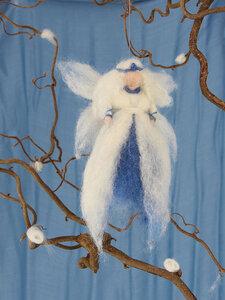 Elfe aus Wollfilz / Jahreszeiten Fee - GLOBO Fair Trade
