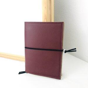 Planer / handgefertigtes Notizbuch VEGAN aus nachhaltigen Materialien (Made in Italy) - VIC ITALY