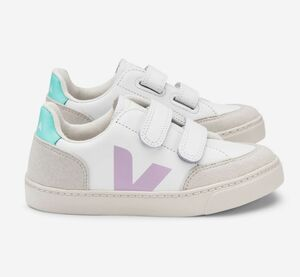 Sneaker Kinder - V-12 Velcro Leather - Veja