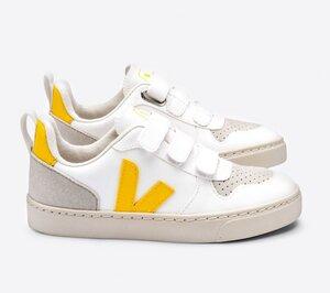 Sneaker Kinder Vegan - V-10 Velcro CWL - Veja
