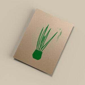 Pflanze II – Kunstdruck DIN A5 - Ballenito