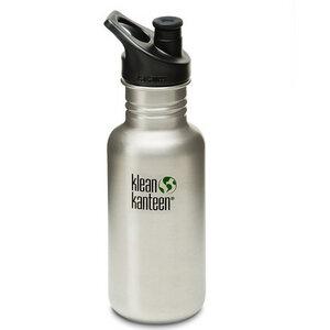 Klean Kanteen - Trinkflasche Sport Cap 532 ml, Edelstahl (silber) - Klean Kanteen