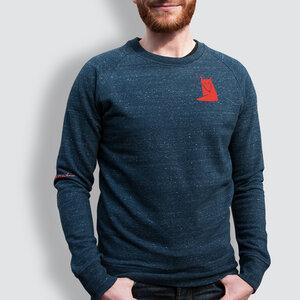 """Herren Sweater, """"Fuchs"""" - little kiwi"""
