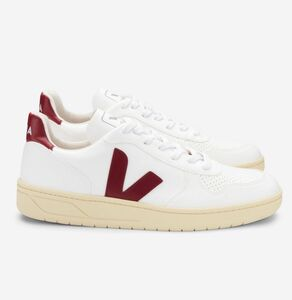 Sneaker Damen Vegan - V-10 CWL - White Marsala Butter Sole - Veja