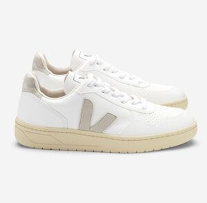 Sneaker Damen Vegan - V-10 CWL - White Natural Butter Sole - Veja