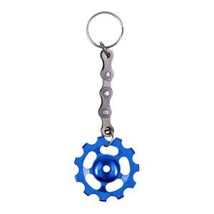 Bicycle Cog Aussergewöhnlicher Schlüsselring aus recycelten Fahrradkettengliedern - Paguro Upcycle