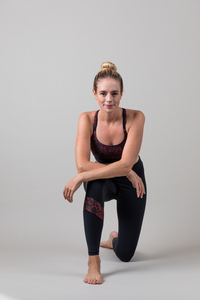 Yoga Leggings – Power Leggings Sunset Glow Leopard - Ambiletics