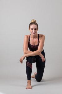 Yoga Leggings – Power Leggings Sunset Glow Leopard - Ambiletics