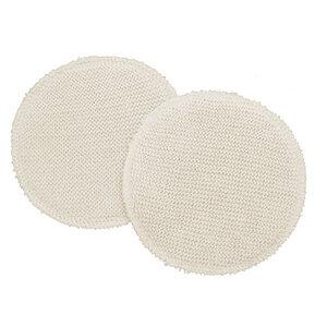 1 Paar Stilleinlagen 2-lagig Bio-Merinowolle/Schappeseide 14 cm - Reiff