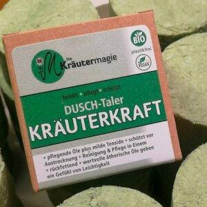 Dusch-Taler Kräuterkraft 75g - Die Kräutermagie
