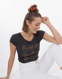 "Bio T-Shirt ""Lea Radgeschichte arsenic"" - Zerum"