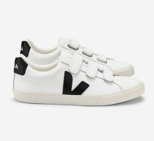 Sneaker Damen - Esplar 3-Lock Leather - Extra White Black - Veja
