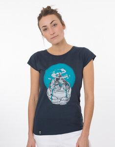 """Bio T-Shirt """"Lea Watercare navy"""" - Zerum"""