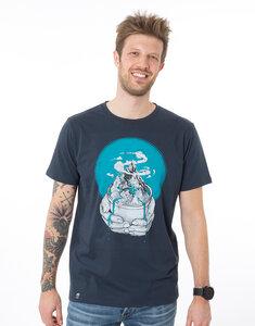"""Bio T-Shirt """"Watercare navy"""" - Zerum"""