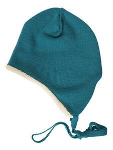 Baby und Kinder Ohrenmütze Bio-Merinowolle/Bio-Baumwolle - Reiff